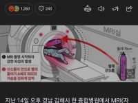 MRI 자력에 2m 옆 산소통 빨려들어갔다, 검사 받던 환자 숨져